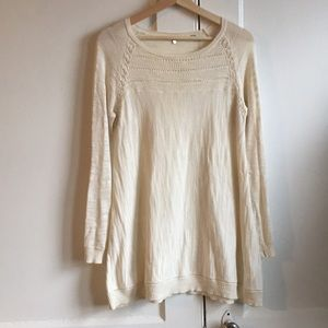 Knitted & Knotted Anthropologie Light Sweater